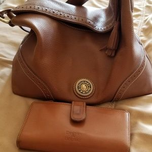 Leather Dooney and Bourke purse and wallet